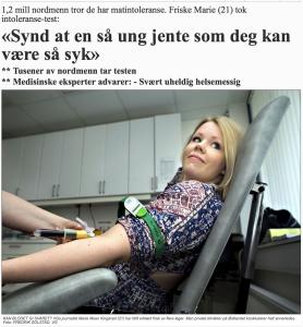 Artikkel i VG 01.07.2015