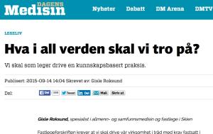 Dagens medisin 14.09.2015